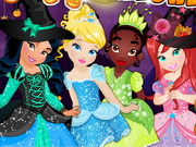 Disney Princess Halloween Html5