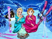 Frozen Sisters Winter Holiday!
