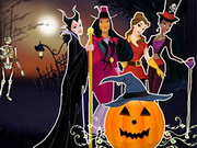 Princesses Halloween Night