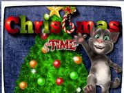 Talking Tom Christmas Time